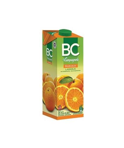 Jugo Bc 1 Lt. Naranja  /