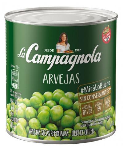 Arvejas La Campagnola 350G