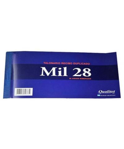 Recibo Mil28 C/dupl. *c/u