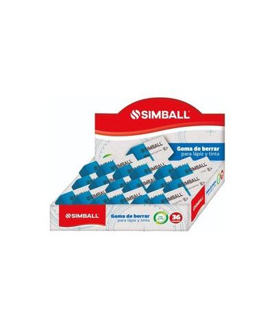 Goma Simball X 36 Lapiz/tinta