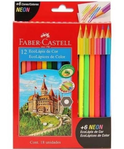 Lap Faber Color 12 L.+ 6 Neon