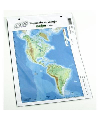 REPUESTO HOJAS DE DIBUJO MIL 28 N° 5 NEGRO