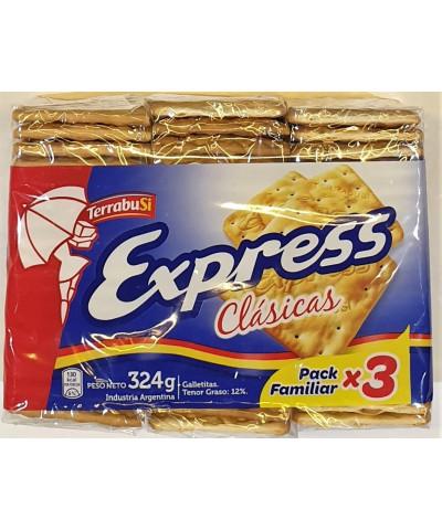 EXPRESS CLASICA X 3 U    324GR