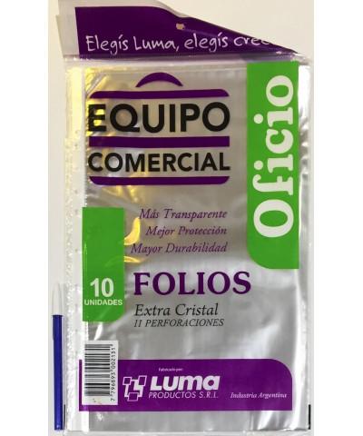 FOLIO EQUIPO COM OFI X 10