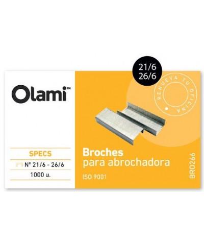BROCHES OLAMI Nº21/6 - 26/6