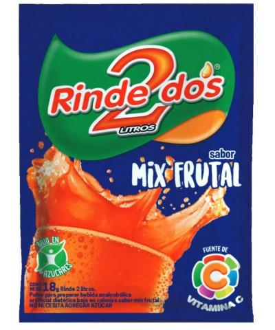 JUGO RINDE DOS 20 U.MIX FRUTAL