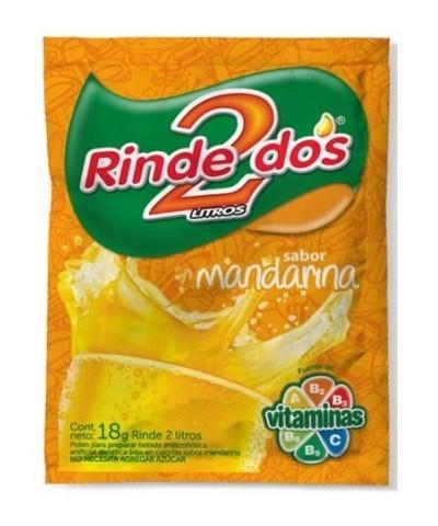 Jugo Rinde Dos 20 U. Mandarina