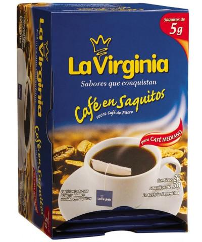 CAFE LA VIRGINIA SAQUITO 20U