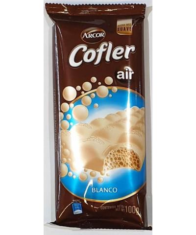 CHOCOLATE COFLER 100 GR.AIR BLANCO