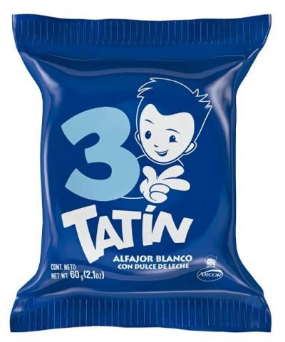 ALFAJOR TATIN TRIPLE BLANCO *C/U