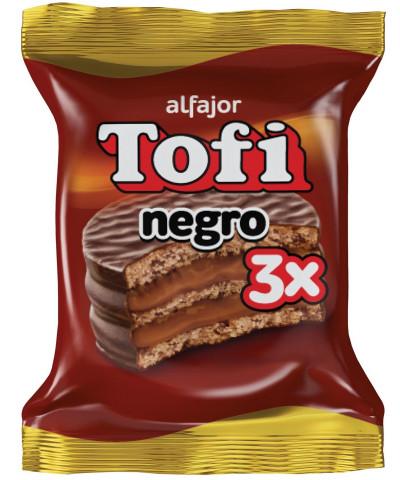 ALFAJOR TOFI TRIPLE NEGRO *C/U