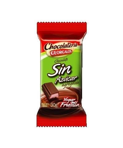 CHOCOLATE DIET YOGURT/FRUTILLA X 12 U