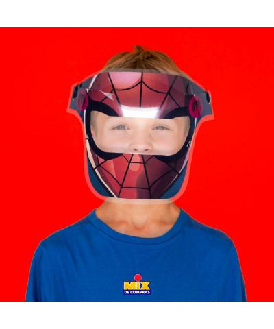 MASCARA PROTECTOR FACIAL SPIDERMAN