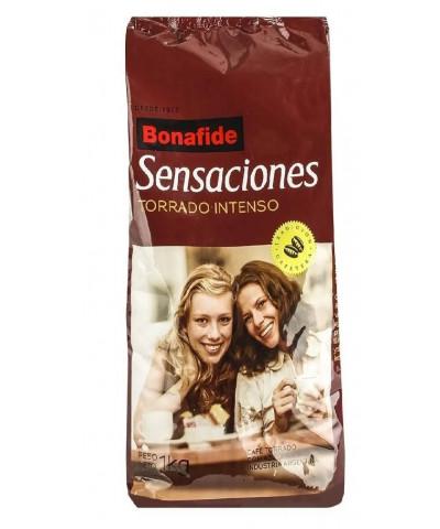Cafe Molido Bonafide Sensaciones Torrado Intenso 1 kg