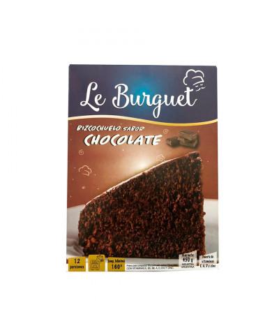 BIZCOCHUELO LE BURGUET 450G CHOCOLATE