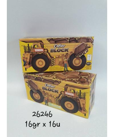 BOMBON COFLER BLOCK X 16 U