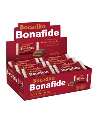 Bocadito Bonafide Dulce de Leche x 24 u.