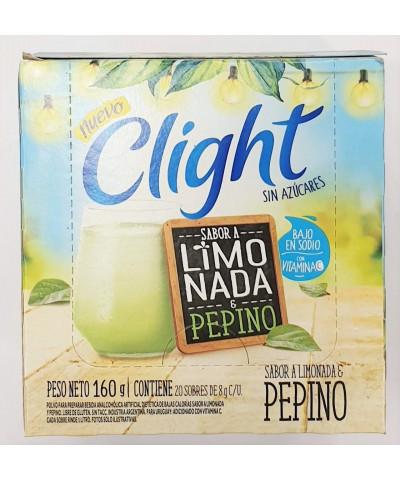 JUGO CLIGHT LMONADA/PEPINO X20