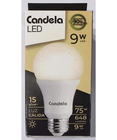 LAMP LED CANDELA 9W LUZ CALIDA