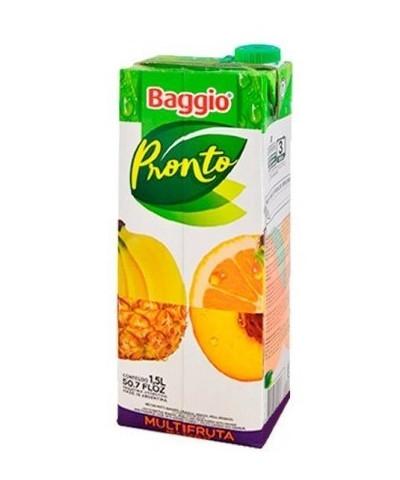 JUGO BAGGIO PRONTO 1,5 L. MULTIFRUT