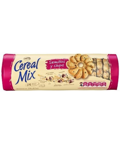 CEREAL MIX 207 GR.SEMILLAS C/CHIPS