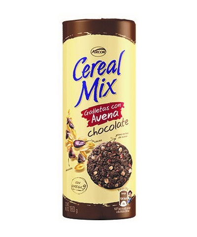 CEREAL MIX 180 GR.AVENA/CHOCOLATE