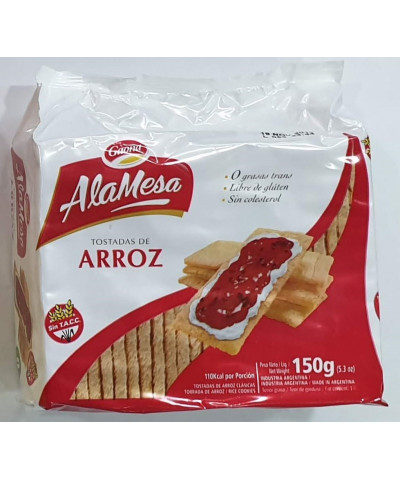 TOSTADA ARROZ GAONA 150 G