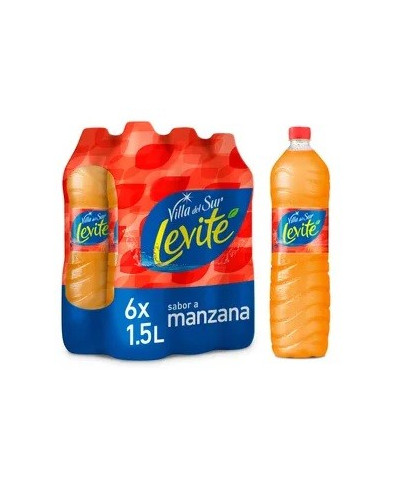 LEVITE 1,5 LT C/U MANZANA**