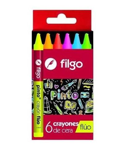 CRAYON FILGO FLUO X 6