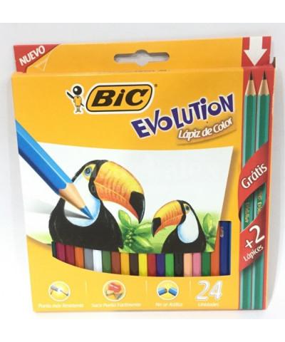 LAP COLOR BIC EVOLUTION X 24
