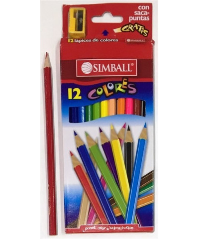 LAP SIMBALL COLOR X 12L.