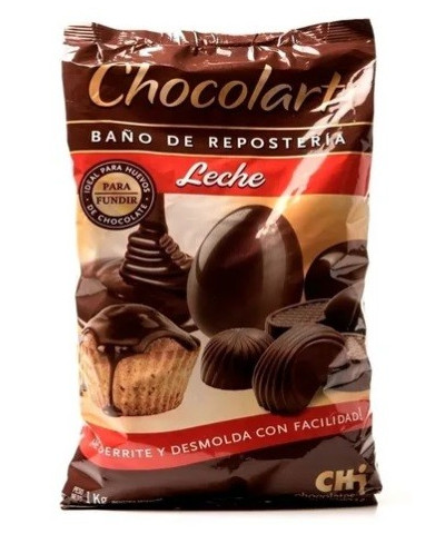 Choc Chocolart Leche 1 Kg