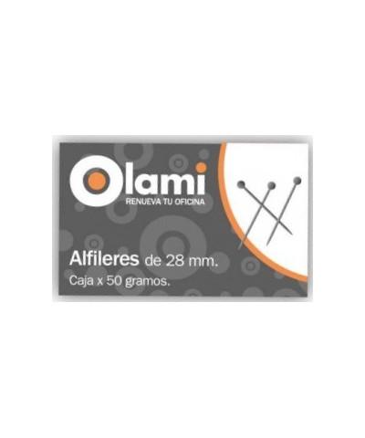Alfileres Olami 28mm 50 Grs