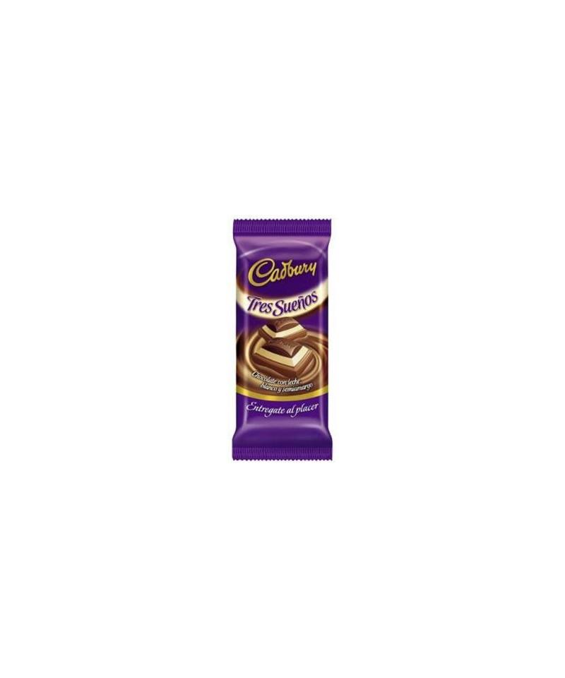 CHOCOLATE CADBURY TRES SUEÑOS 160 GRAMOS